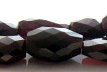 Jewelry Quest Garnet Beads