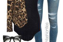 jak nosit zvířecí vzory - inspirace Nana Vogue