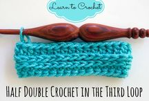 Haken/Crochet tips & trics / uitleg van steken  en handigheidjes