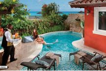 Sexiest Honeymoon Suites Called Love Nest Private Suites / Sandals has a group of Love Nest Luxury Suites. The perfect rooms for a perfect honeymoon . They all score 10! The ultimate suites for complete private romance with private pools in some cases.