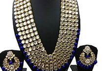 Bridal Kundan Women Jewelry Necklace Set