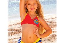 DC Girls Swimwear / Shop for new DC Comics 2014 Girls Swimwear - Wonder Woman, Supergirl and Batgirl / by SimplySuperheroes.com