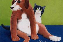 VICKY MOUNT AND CATS / Cats painter