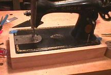 vintage sewing machines / by Colleen Yarnell