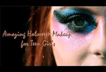 Halloween Makeup Tutorial / Want a gorgeous makeup look this Halloween? Or do you want to stand out? Whatever the case, we have something just for you. Find and save ideas about Halloween Makeup Tutorials Here...