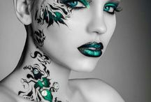 Fashion make-up 'Great Lenghts'