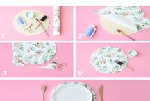 Do it yourself / Some inspirations for DIY decoration, hairstyles and your special day! <3