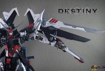 MG Destiny Noir Gundam(custom by A2M Garage)