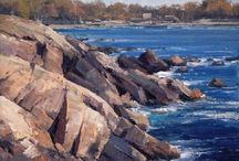「海」「滝」」の参考になる風景