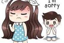 I am sorry love lo siento mucho