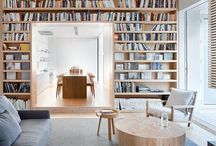 Books in living-room