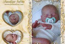 JULIUS: Xander - Cassie Brace: Dolls as Live - Made with Love - Sunshine Babies - Reborn Dolls