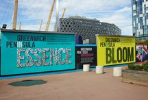 Advertising Hoarding | Greenwich Peninsula / To keep up to date with latest projects visit www.octink.com