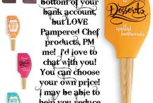 Pampered Chef Ideas / by Jenny Hofer
