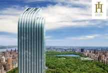 NEW YORK - ONE 57 / One 57 é um condomínio em torre de 90 andares, localizado no número 157 da West 57th Street, anteriormente conhecido como Carnegie 57, com vistas deslumbrantes para o Central Park. One 57  uma das mais altas torres mistas de Manhattan. Exclusivos serviços 5 estrelas, fornecidos pelo Hotel Park Hyatt, localizado nos primeiros 30 andares do prédio. Idealizado pelo arquiteto francês Christian De Portzamparc e o arquiteto Thomas Juul-Hansen. Saiba mais invistahome@invistahome.com.br