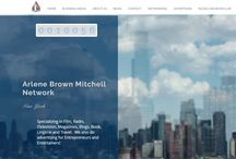 ABMN: Website Building / ABMN: Here is some of our work.   Are you an entrepreneur, entertainer, author, blogger or freelancer and need a website or landing page? You can put all of your social sites in one place. You can show off what you do and how you do it! The Arlene Brown Mitchell Network can build you either starting at $5.00.