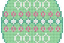 pt de X: Pâques, lapins et oeufs