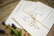 Lavender Wedding Theme / Lavender is such a beautiful flower with it's gorgeous scent and subtle pastel colour tone.   Lavender would be perfect for a rustic summer wedding or country garden wedding theme and can be used throughout the wedding to add beautiful colours and aromas to your wedding day.   You can add lavender imagery or fresh and dried lavender flowers throughout your wedding theme from the save the date cards and invitations to the bridal bouquet, church flowers, wedding breakfast and thank you cards.