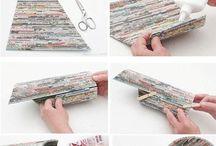 Fantasie di carta riciclata