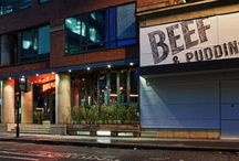 DV8 Designs - Beef & Pudding Manchester - Opened April 2014 / Showcasing the latest design by DV8 Designs Like what you see ?  Why not get in contact and find out how we can help you achieve you design aspirations