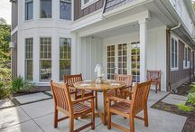 SPACES - Outdoor Living / For all your South Shore Massachusetts Real Estate needs Call or email Steve @ Coldwell Banker! 617-372-1870 * sfaye@cbzhomes.com Look forward to working with you! / by Steve Faye - Coldwell Banker