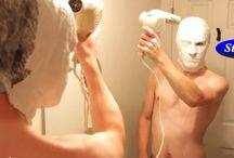Masken herstellen / Schlaue Köpfe