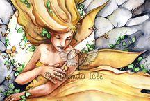 Fairies / Watercolor Fairies from Abranda Icle