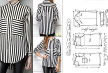 patrones camisa