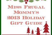 Miss Frugal Mommy's 2013 Holiday Gift Guide
