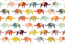 i just really like elephants. / by Celeste G.