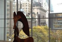 MoMa / visiting Museum of Modern Arts in New York City