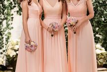 Mix & Match Bridesmaids / Create your perfect bridal party from Jasmine Bridal's Belsoie, B2, and Jasmine Bridesmaid lines! Mix and match styles and colors to fit YOUR wedding theme!