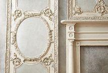 Old Doors / Lovely vintage, antique French Doors, Paneled Doors, just beautiful old doors...
