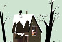 La bruixa i el tió / Conte il·lustrat per Oscar Julve publicat per Baula (2016)