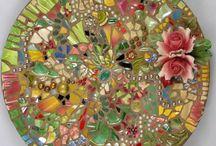 Sten og mosaik