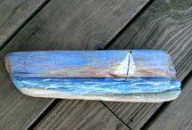 Ζωγραφική σε ξυλο