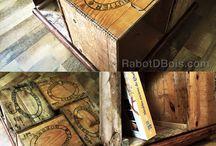 Mobilier / Fait à l'Atelier. Made by Rabot-D-Bois www.rabotdbois.com