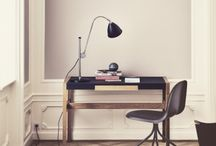 Working Spaces / Modern working spaces smart intergrated in domestic interior.