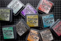 distress ink/oxide use
