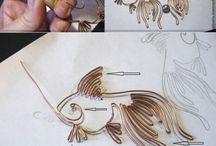 wire animals