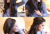 hairstyle / hair for girls