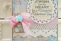 Cards-- Valentine / by Wanda Contreras Pagan