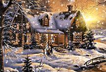 Mozgó képek - karácsonyi