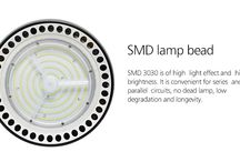 LED High Bay Light CL7 /  Unique aeroengine shape design - get high-end, classical, technology and great heat dissipation led high bay light.  SMD 3030 is of high light effect and high brightness. It is convenient for series and parallel circuits, no dead lamp, low degradation and longevity.