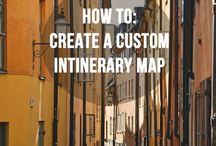 Create itinerary map