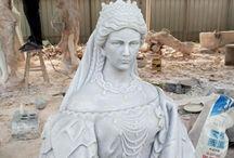 Marble Sculptures - rzeźby z marmuru - DARSIN.EU WWW.DARSIN.EU INFO@DARSIN.EU / stone sculptures & busts  columns  fireplaces  www.darsin.eu (48)602673677 or (48)606816101 Darsin company Poland info@darsin.eu