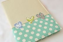 Fabric notebook covers / by Aideen O'L