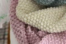 Knitting and Crochet Scarves