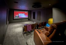 HOME THEATRE ROOMS / Pictures of HOME THEATRE  equipment and ROOMS