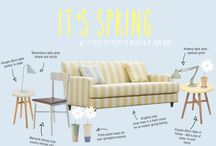 Outdoor Space / A capsule collection of Spring for your home.